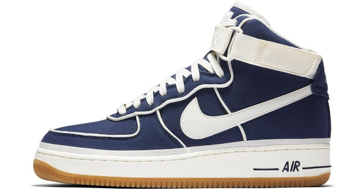 86080604a3153 Lyst - Nike Air Force 1 07 High Lv8 Men's Shoe in Blue for Men