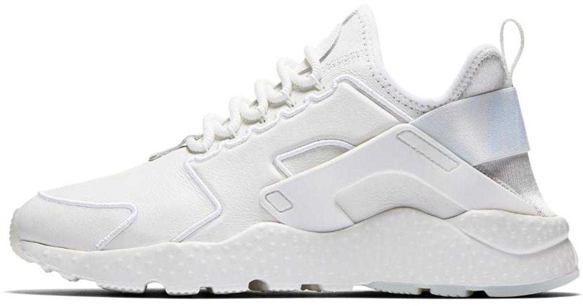 1aa0b891b515 ... order lyst nike air huarache ultra si womens shoe in white b0d21 f847c