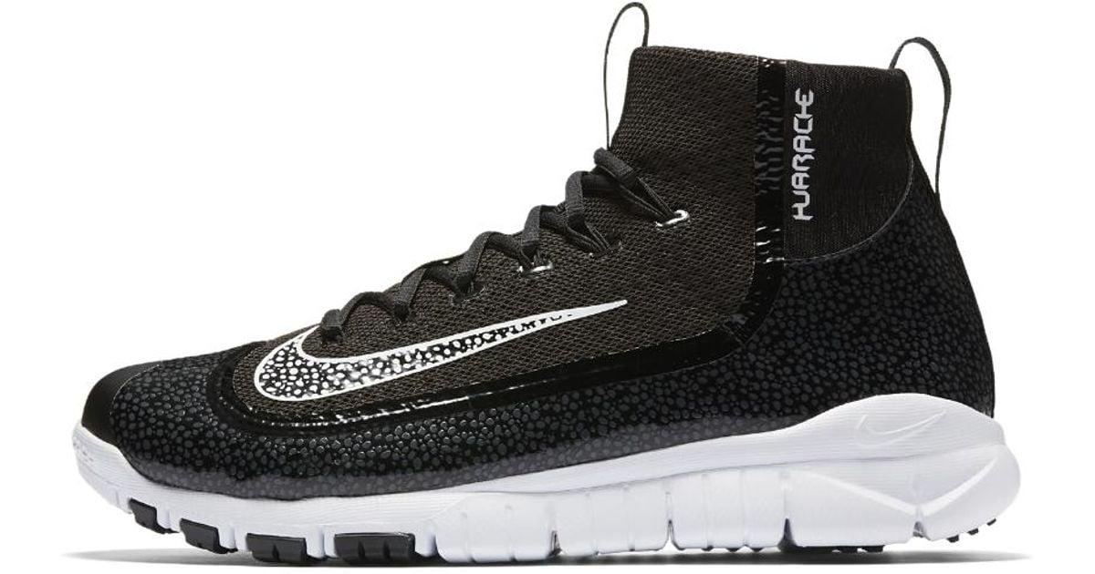 buy popular 671d8 9ac11 Nike Alpha Air Huarache 2k Filth Elite Pregame Men s Baseball Shoe in Black  for Men - Lyst