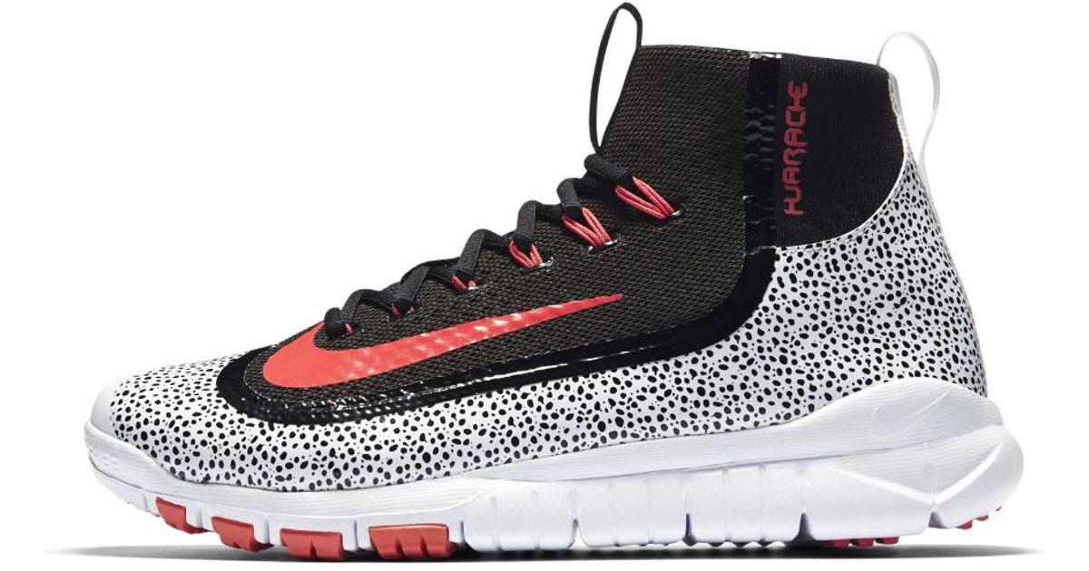 buy popular f8545 72d3f Nike Alpha Air Huarache 2k Filth Elite Pregame Men s Baseball Shoe in Black  for Men - Lyst