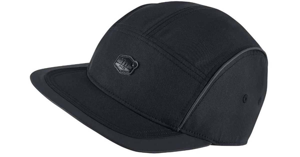 4f48cdaa5ca37 ... ireland lyst nike lab aw84 tuned air mens adjustable cap black in black  for men 6291e