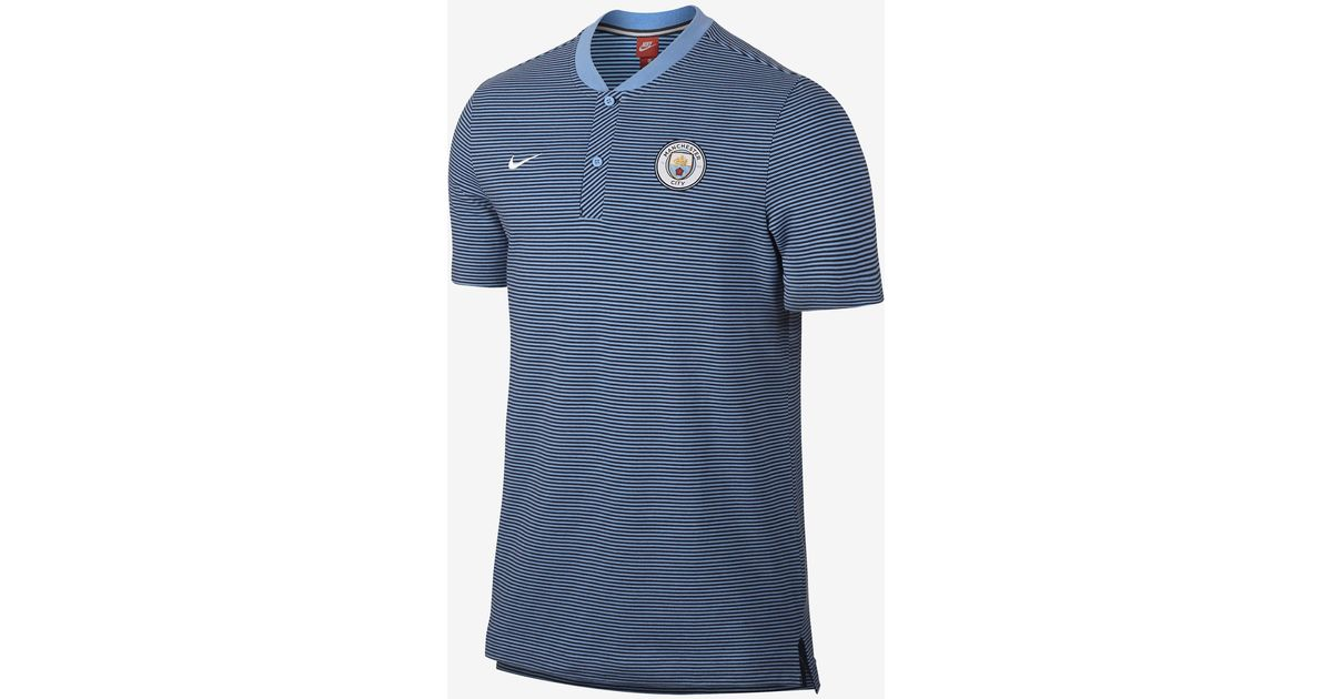 f72d8f24 Nike Manchester City Fc Modern Authentic Grand Slam in Blue for Men - Lyst