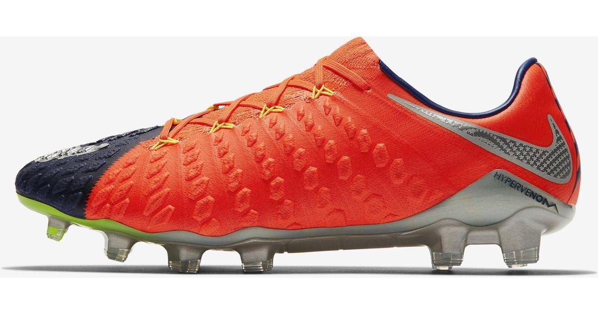finest selection b2149 942d4 Nike Hypervenom Phantom 3 Fg in Blue for Men - Lyst