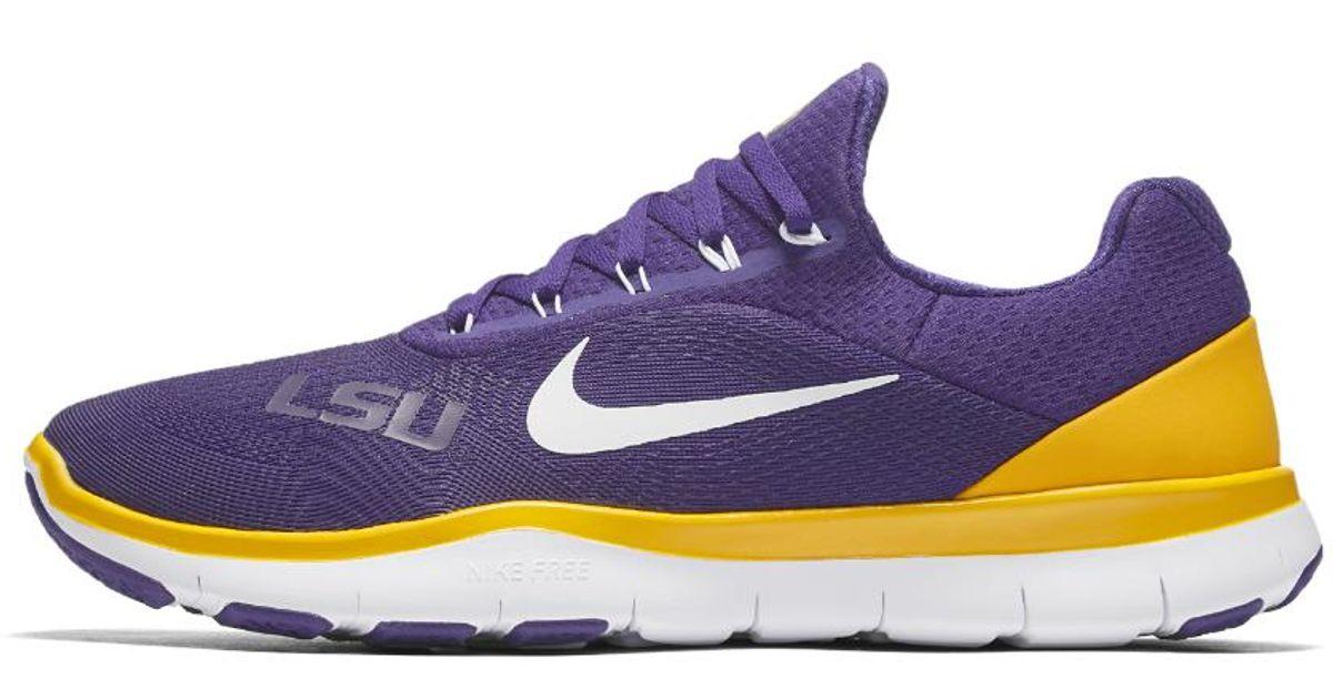 online store 3ff62 d89cb Nike Free Trainer V7 (lsu) Men s Training Shoe in Purple for Men - Lyst