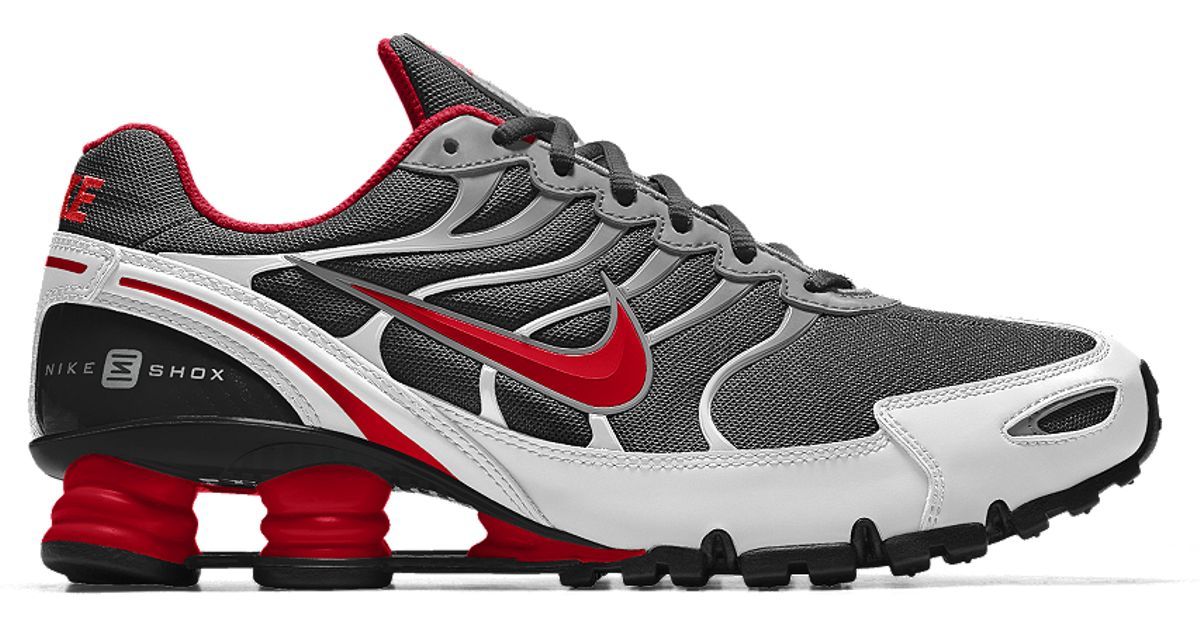 finest selection f1095 c2536 Lyst - Nike Shox Turbo Vi Id Men s Shoe in Black for Men ...