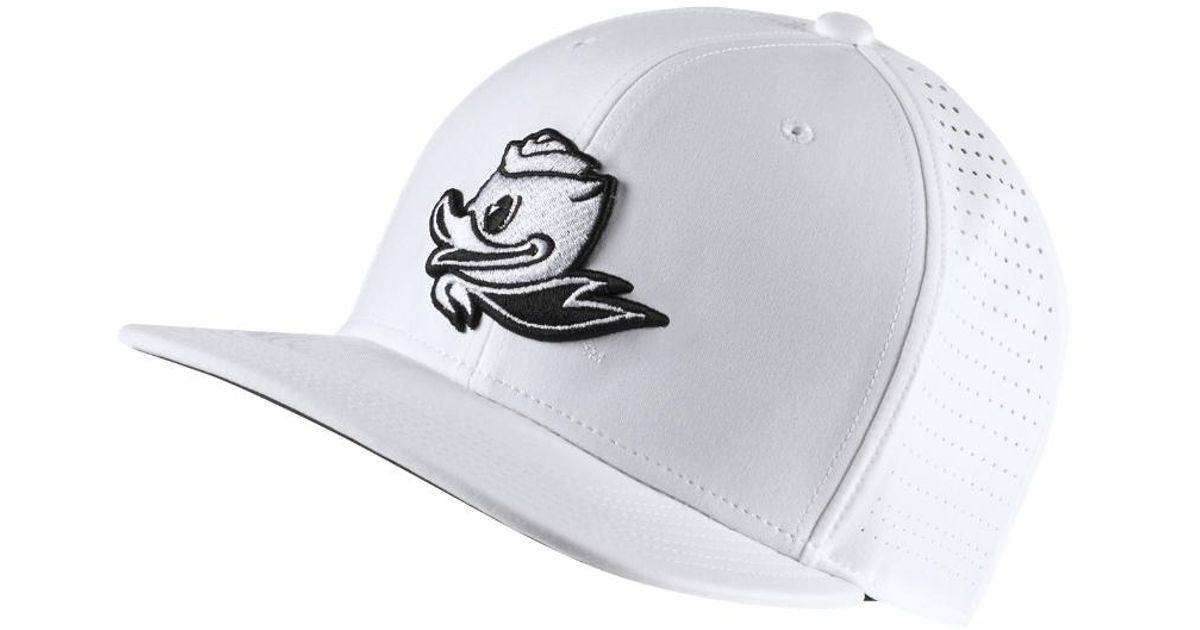 8966e352892 Lyst - Nike College Perforated (oregon) Adjustable Golf Hat (white) in White  for Men