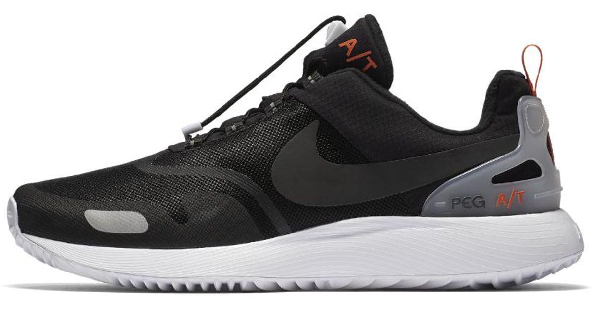 2dc953cfe357 Lyst - Nike Air Pegasus At Pinnacle Men s Shoe in Black for Men