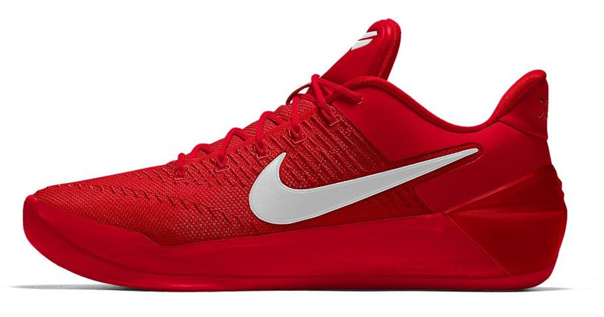 bb2c759ad915 ... where can i buy lyst nike kobe a.d. id mens basketball shoe in red for  men