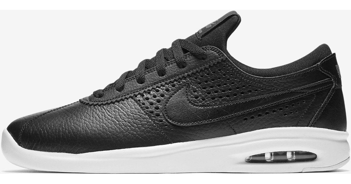 online retailer 189b8 54b1c Nike Sb Air Max Bruin Vapor in Black for Men - Lyst