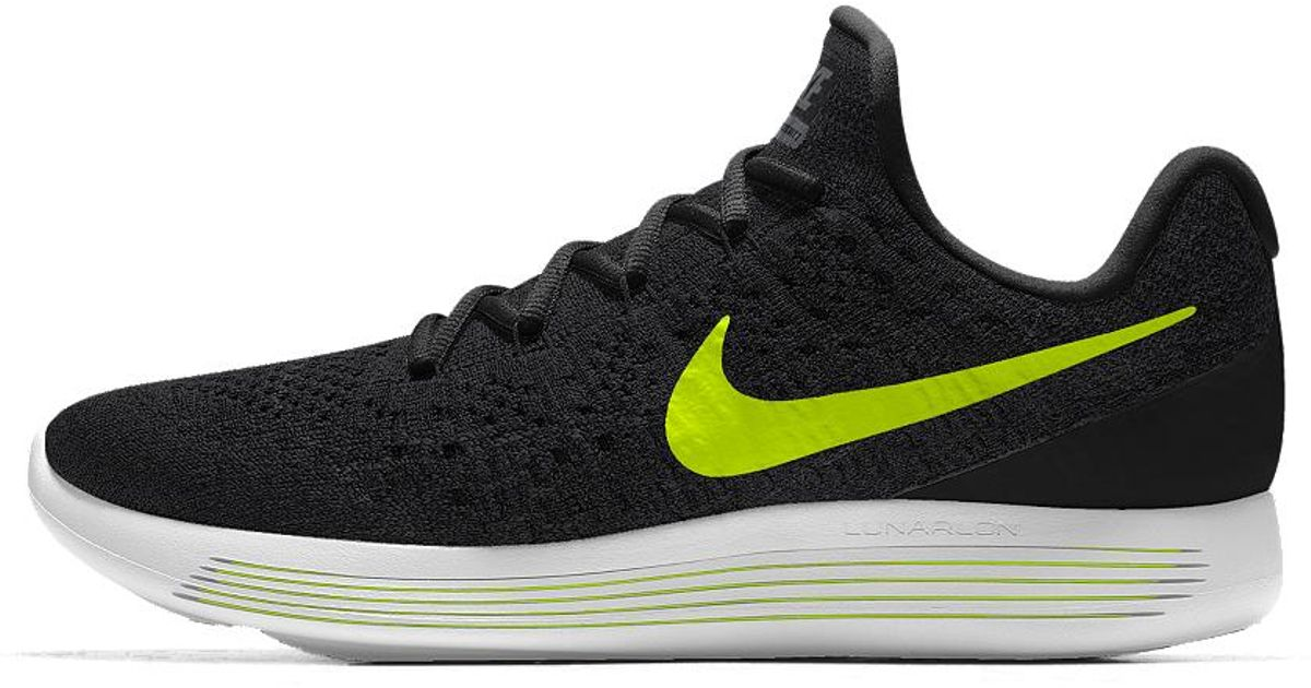 Lyst - Nike Lunarepic Low Flyknit 2 Id Men's Running Shoe in Black for Men