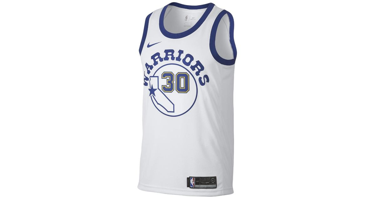 080c2f1ca Lyst - Nike Stephen Curry Classic Edition Swingman Jersey (golden State  Warriors) Men s Nba Connected Jersey in Blue for Men