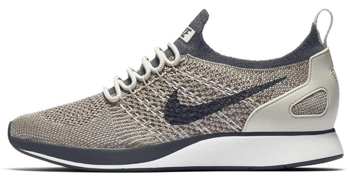 on sale 7e5b4 d42e4 Lyst - Nike Air Zoom Mariah Flyknit Racer Womens Shoe in Gra