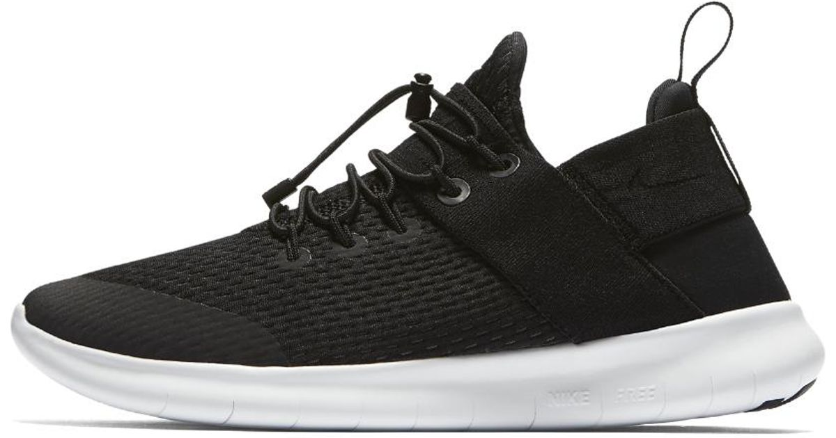 809d1a5d8ecd Lyst - Nike Free Rn Commuter 2017 Women s Running Shoe in Black - Save 46%
