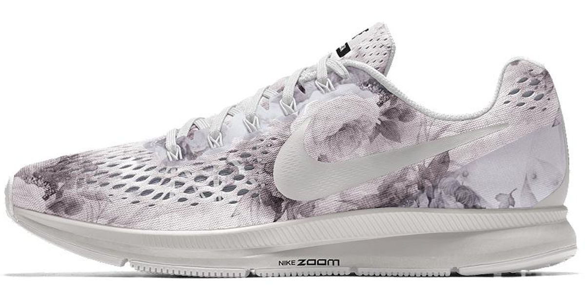 Lyst - Nike Air Zoom Pegasus 34 Gpx Id Women s Running Shoe in White 1c4f154859