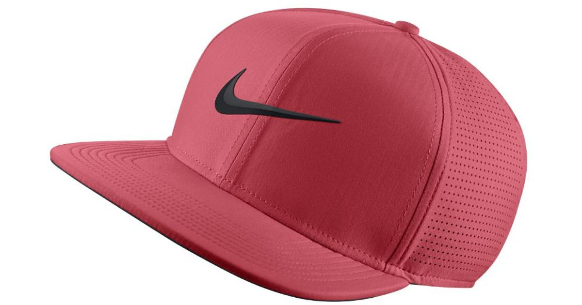 Lyst - Nike Aerobill Adjustable Golf Hat (pink) - Clearance Sale in Pink  for Men 8735d413f65