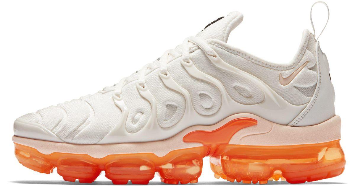 93cdc0836fd Nike Air Vapormax Plus Shoe in White - Lyst
