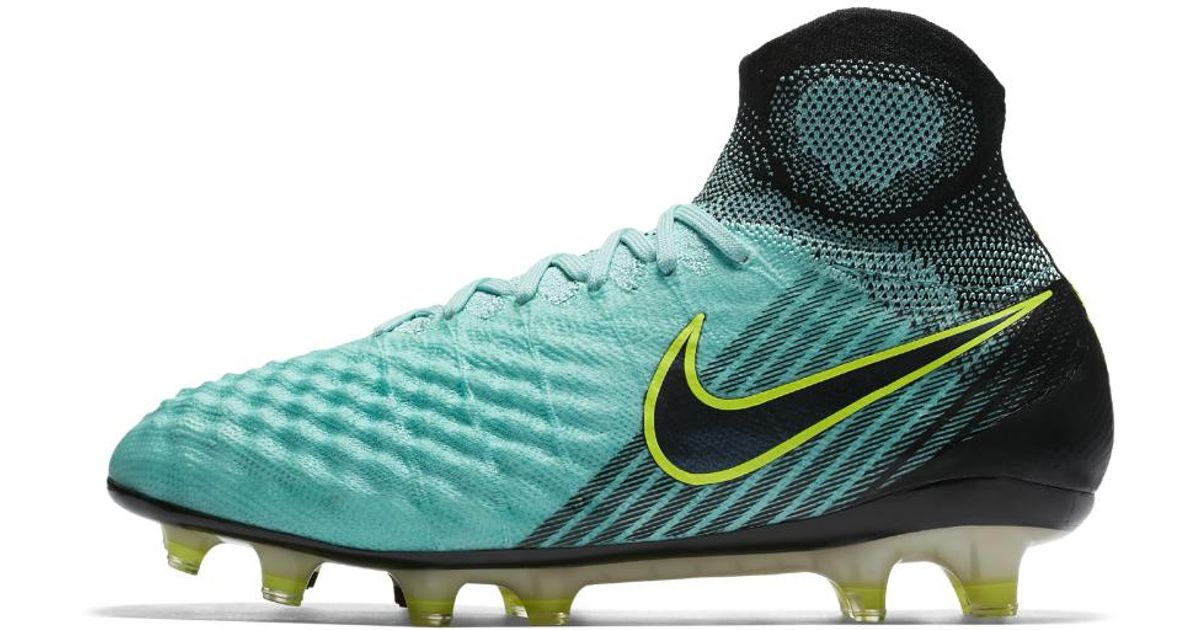 85847acdb266 ... hot lyst nike magista obra ii womens firm ground soccer cleats in green  for men b4a84