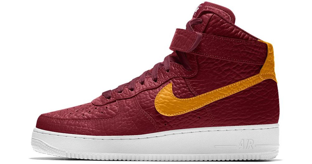 sale retailer d595c 43525 ... Lyst - Nike Air Force 1 High Premium Id (cleveland Cavaliers) Mens Shoe  in ...