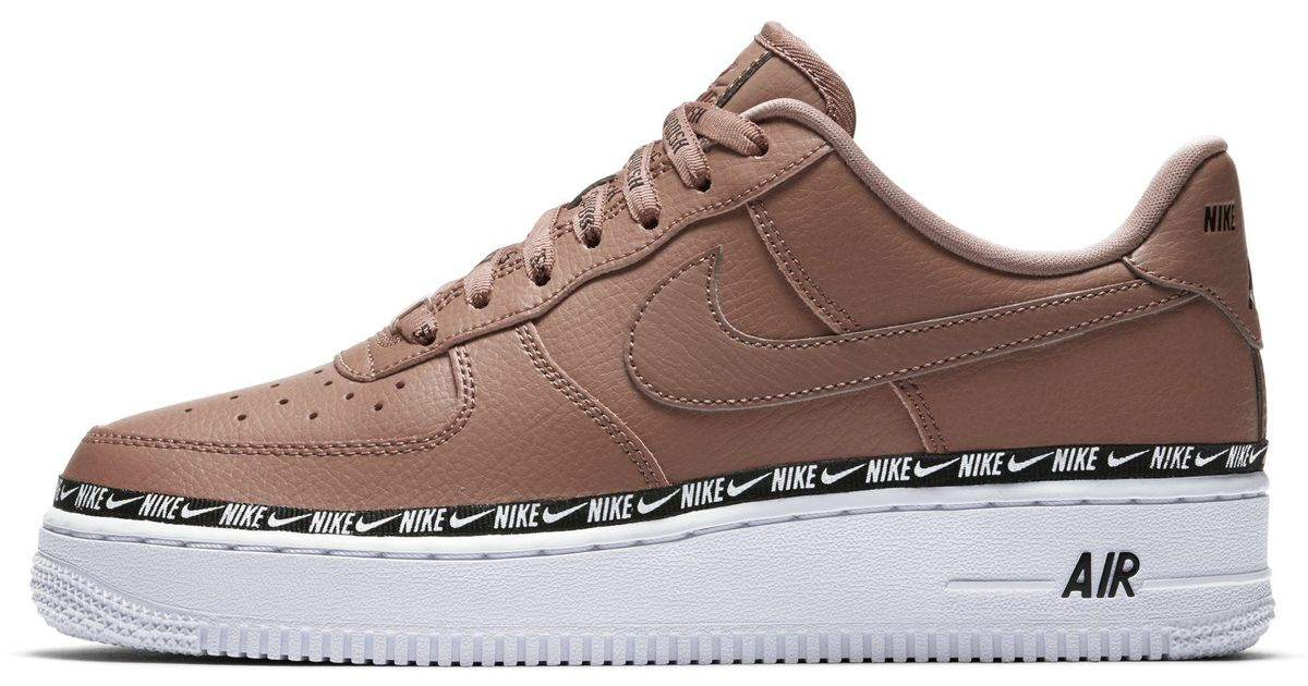 brand new 2d17c 5d9eb Nike Air Force 1  07 Se Premium Shoe in Brown - Lyst