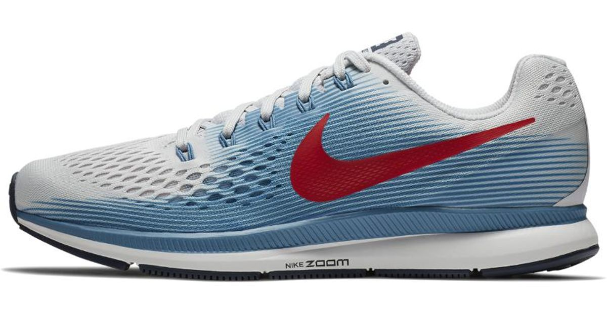 992234f5d21a8 Lyst - Nike Air Zoom Pegasus 34 Men s Running Shoe in Blue for Men