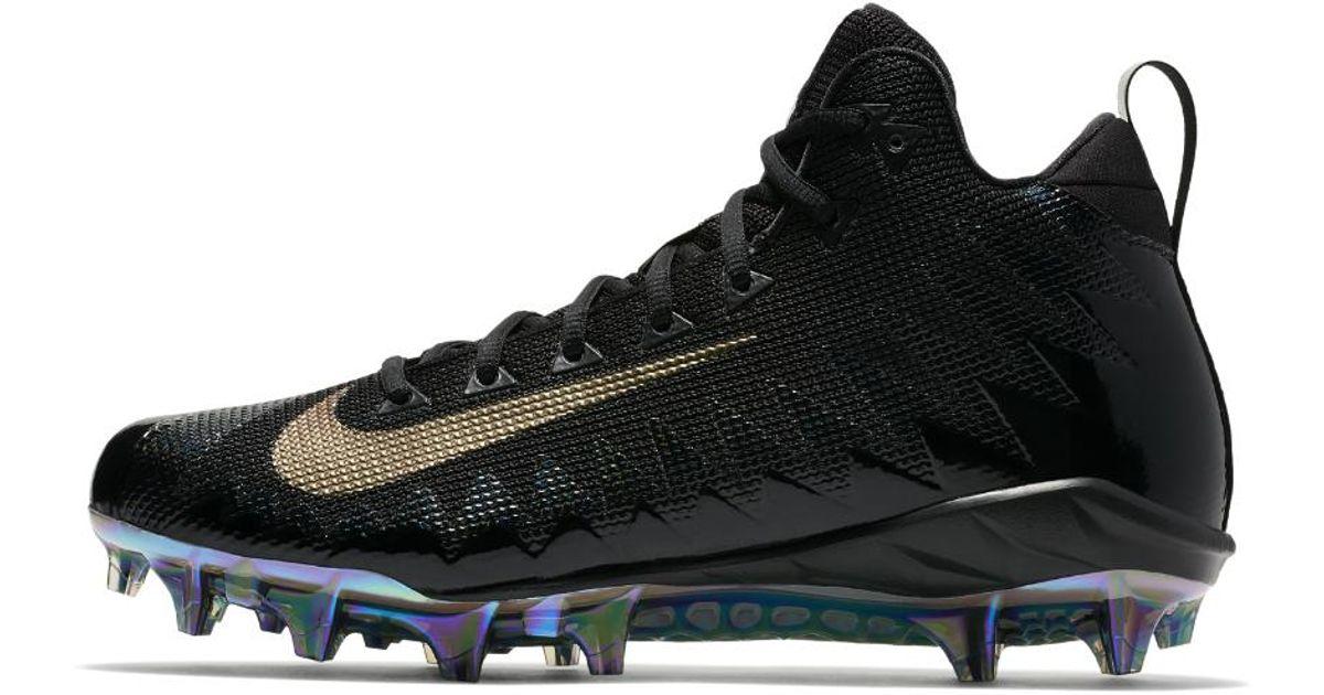 2a90b0a407b Lyst - Nike Alpha Menace Pro Mid Men s Football Cleat in Black for Men