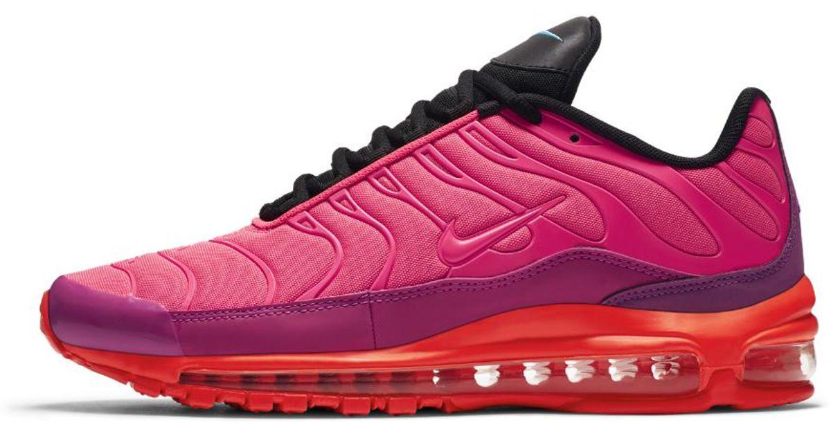 brand new 1cbe6 ff0b6 Lyst - Nike Air Max 97 Plus Mens Shoe in Pink for Men