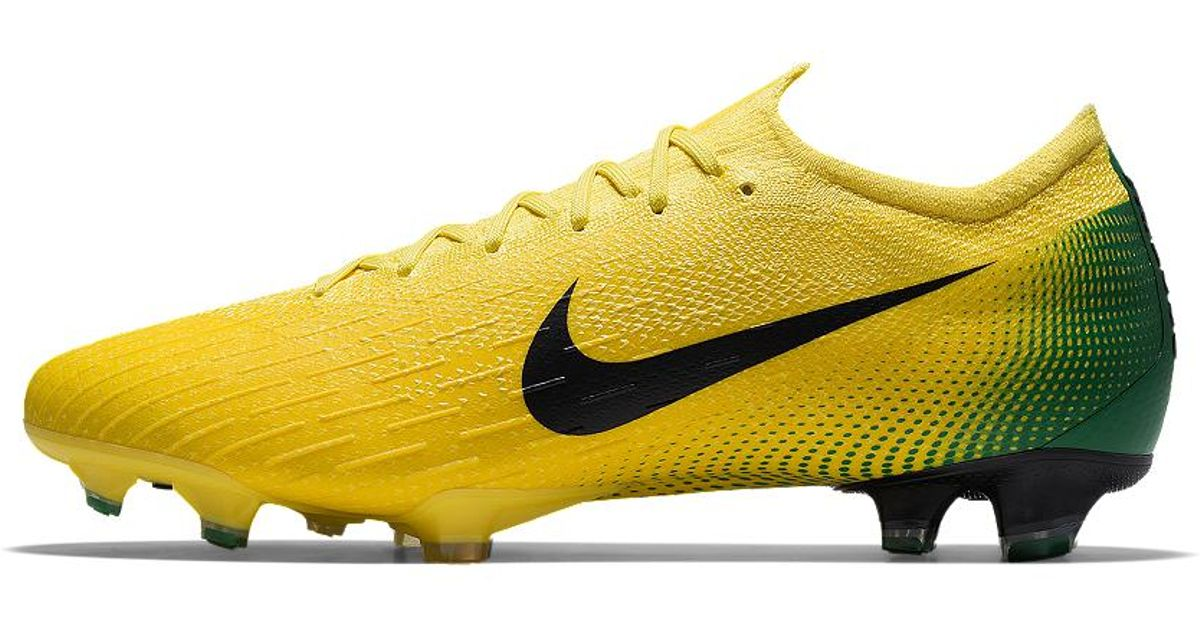 huge selection of 30365 30e70 Nike Mercurial Vapor 360 Elite Fg Premium Id Firm-ground Soccer Cleats in  Yellow for Men - Lyst