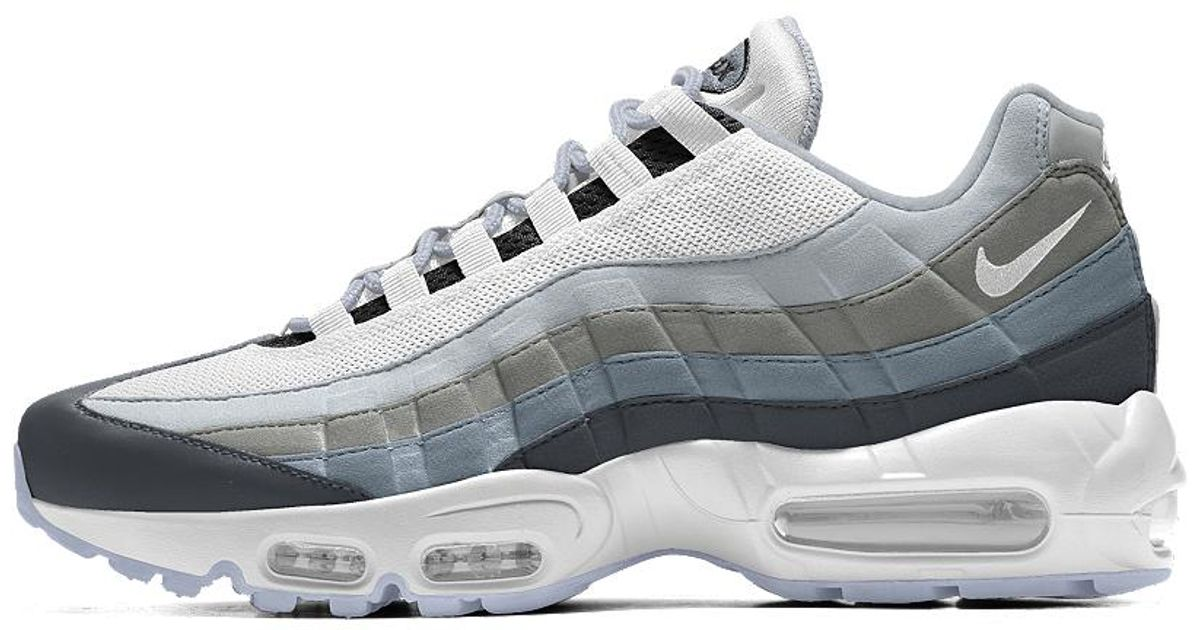 separation shoes f2387 b53fc Nike Air Max 95 Id Women s Shoe in Gray - Lyst