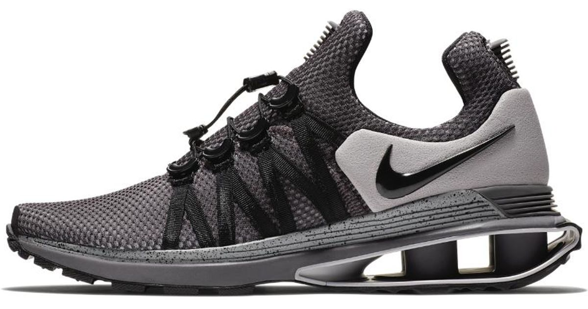 half off 8c988 dd09d Lyst - Nike Shox Gravity Men s Shoe in Gray for Men