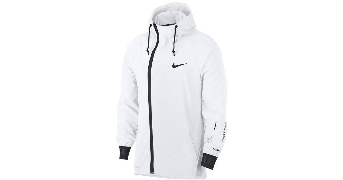 d7a6cff139d1b Nike Flex Stretch Training Jacket 2.0 in White for Men - Lyst