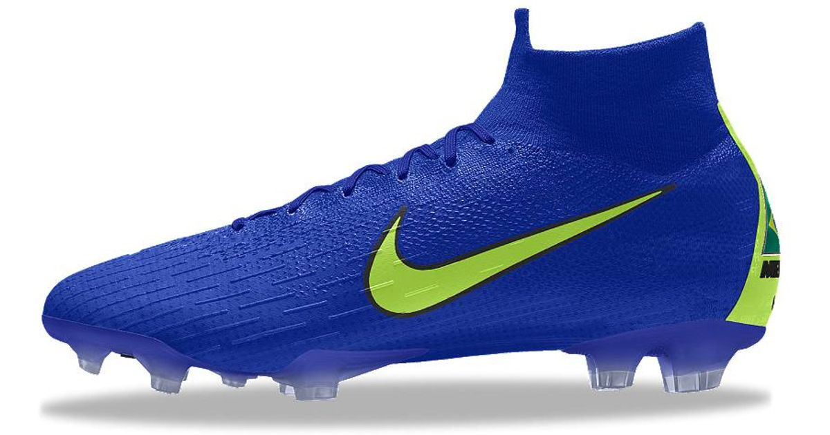 new products 09975 e6e79 Lyst - Nike Mercurial Superfly 360 Elite Fg Id Firm-ground Soccer Cleats in  Blue for Men