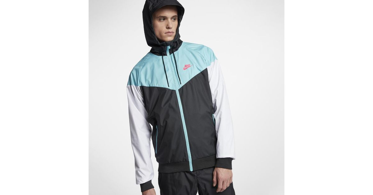 ae4d2563d843 Lyst - Nike Sportswear Windrunner Men s Jacket in Black for Men