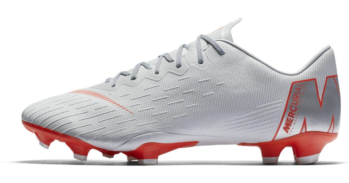 4e47b1031a1 Nike Mercurial Vapor Xii Pro Firm-ground Football Boot in Gray - Lyst