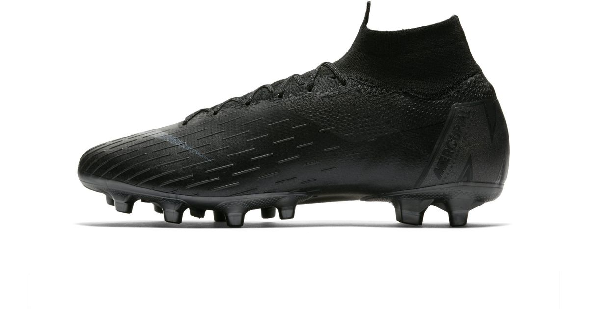 Nike Mercurial Superfly 360 Elite Ag-pro Artificial-grass Football Boot in  Black - Lyst e99c774141