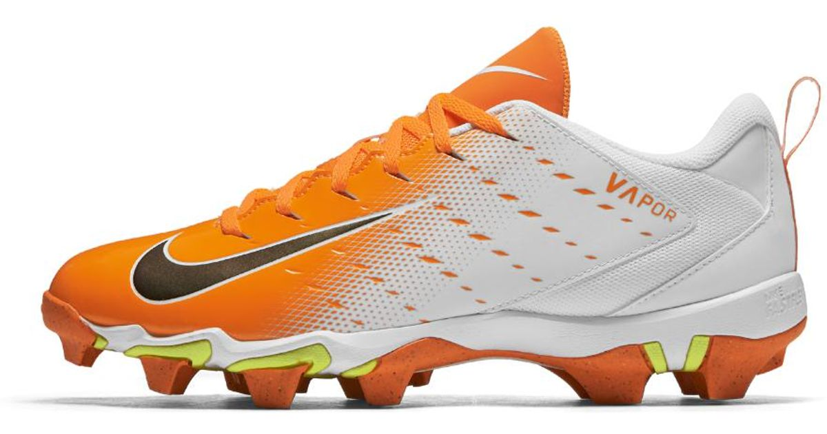 86c5ab8731a6 Nike Vapor Untouchable Shark 3 Men's Football Cleat in Orange for Men - Lyst