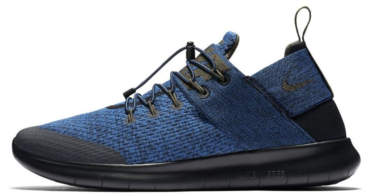 2bd3de6a53dd1 Lyst - Nike Free Rn Commuter 2017 Premium Men s Running Shoe in Blue for Men
