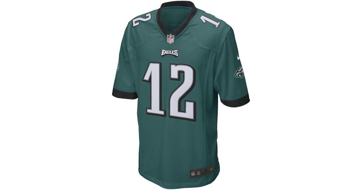 Lyst - Nike Nfl Philadelphia Eagles (randall Cunningham) Men s Football  Home Game Jersey in Green for Men 1d1deb0b9