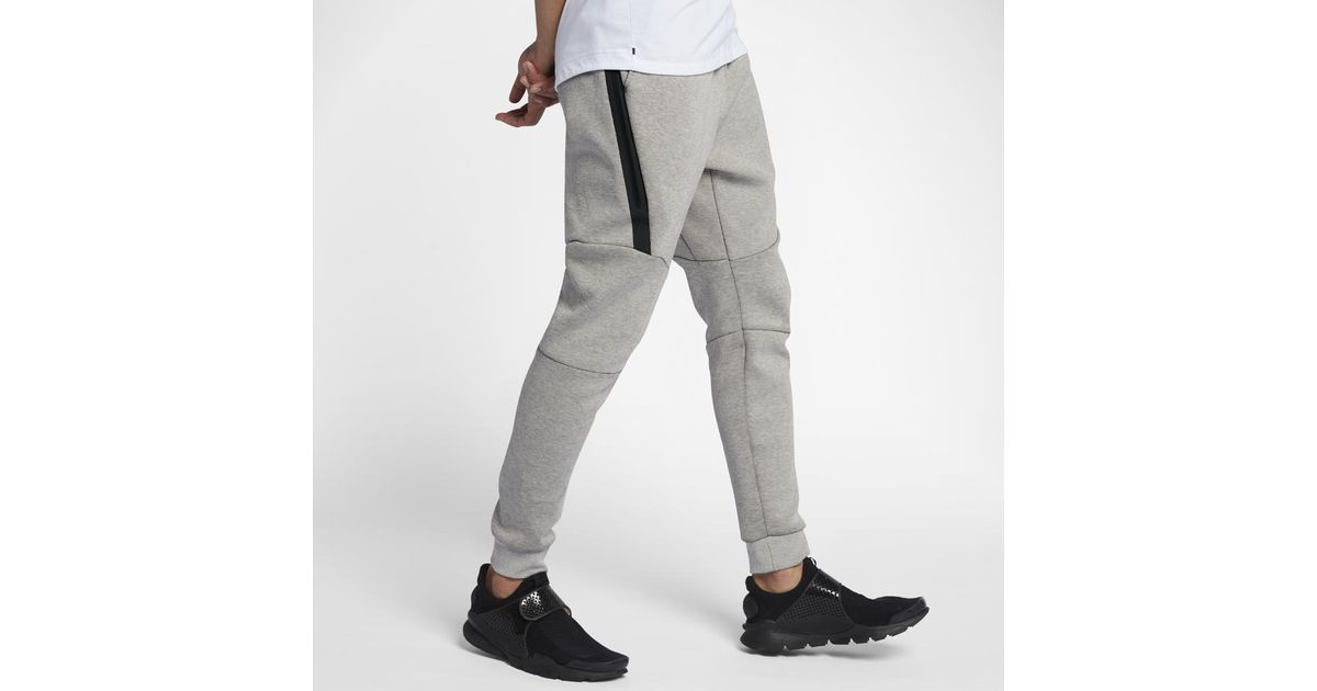 f1378ac4358891 Lyst - Nike Sportswear Tech Fleece Men s Joggers in Gray for Men