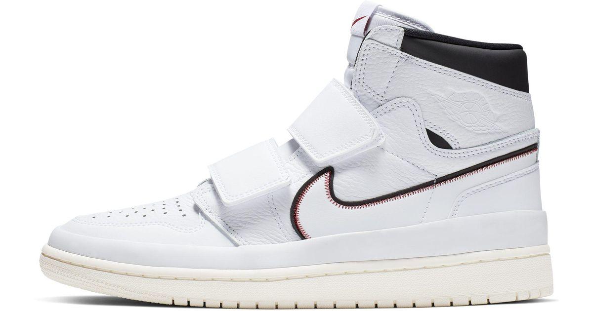 a02ca8aaeeb Nike Air Jordan 1 Retro High Double Strap Shoe in White for Men - Lyst