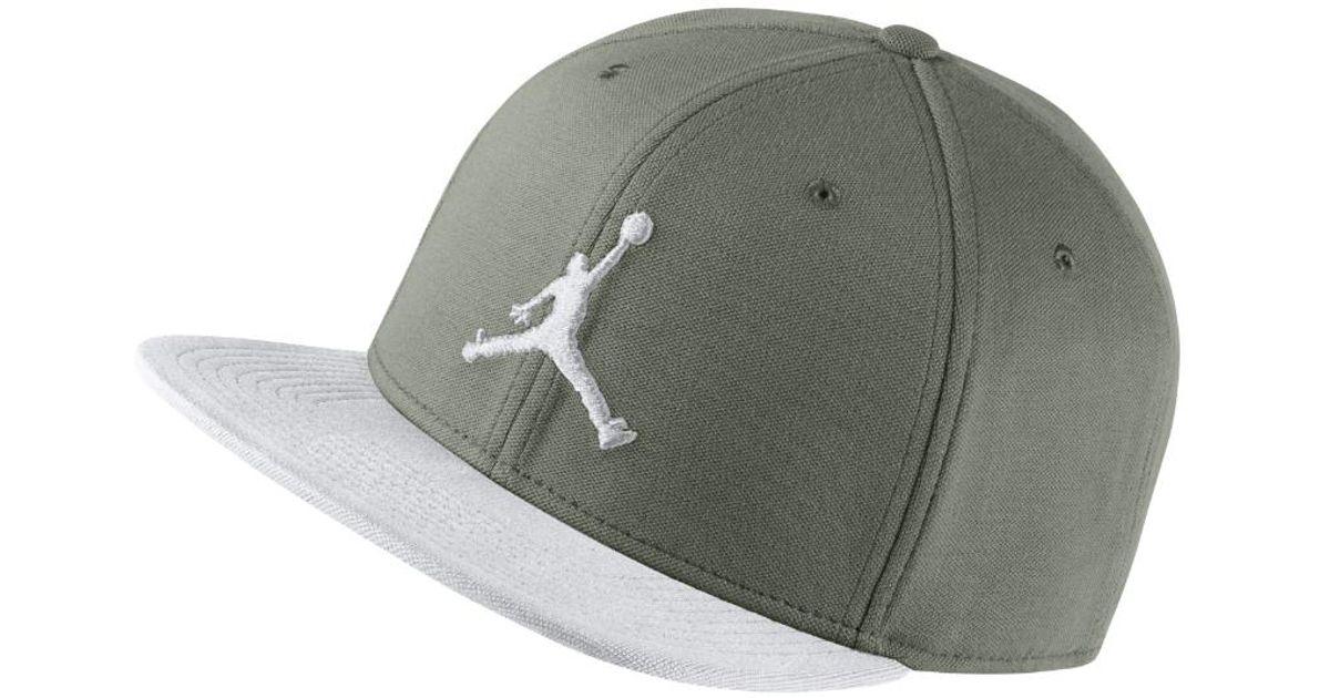 Lyst - Nike Jumpman Snapback Adjustable Hat eff46a1c1215