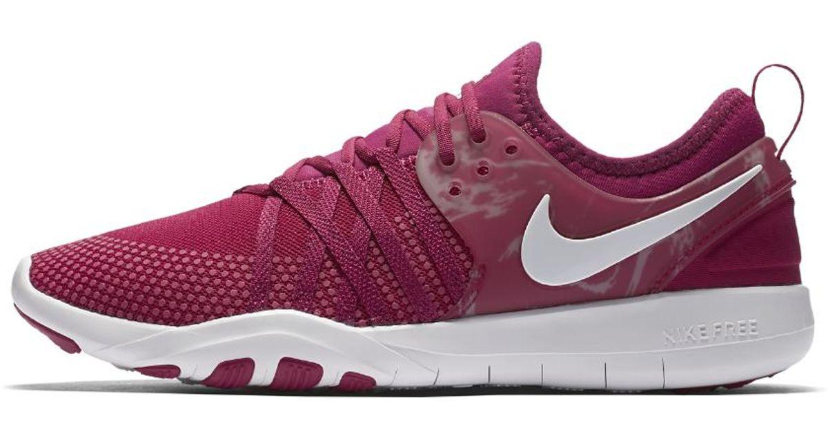 44d1cb02adce ... lyst nike free tr7 womens training shoe in purple
