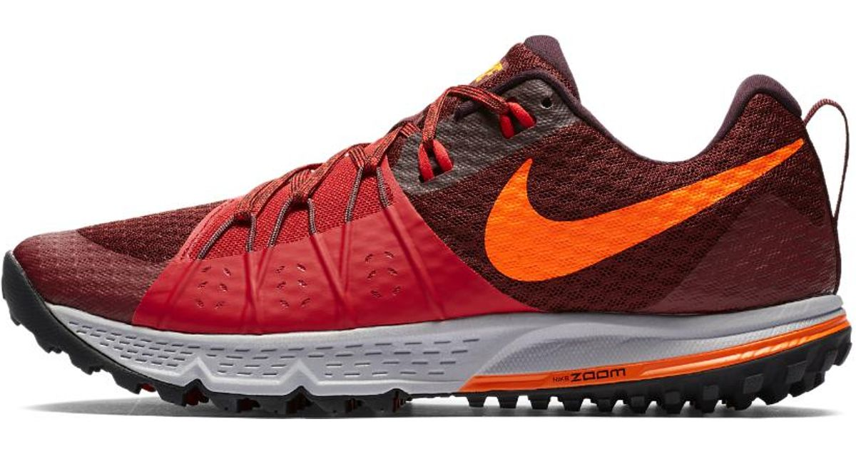 d159902b4f36a Lyst - Nike Air Zoom Wildhorse 4 Men s Running Shoe in Red for Men