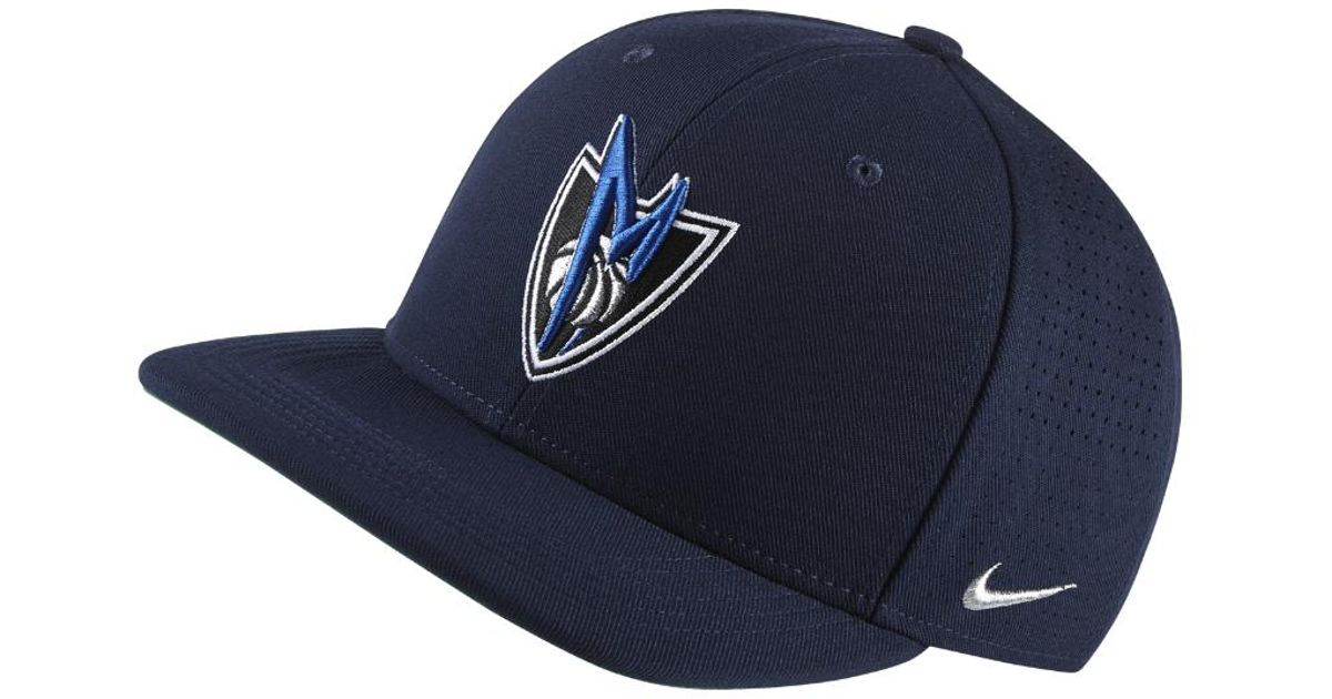 Lyst - Nike Dallas Mavericks Aerobill Classic99 Adjustable Nba Hat (blue)  in Blue for Men c4051710f224