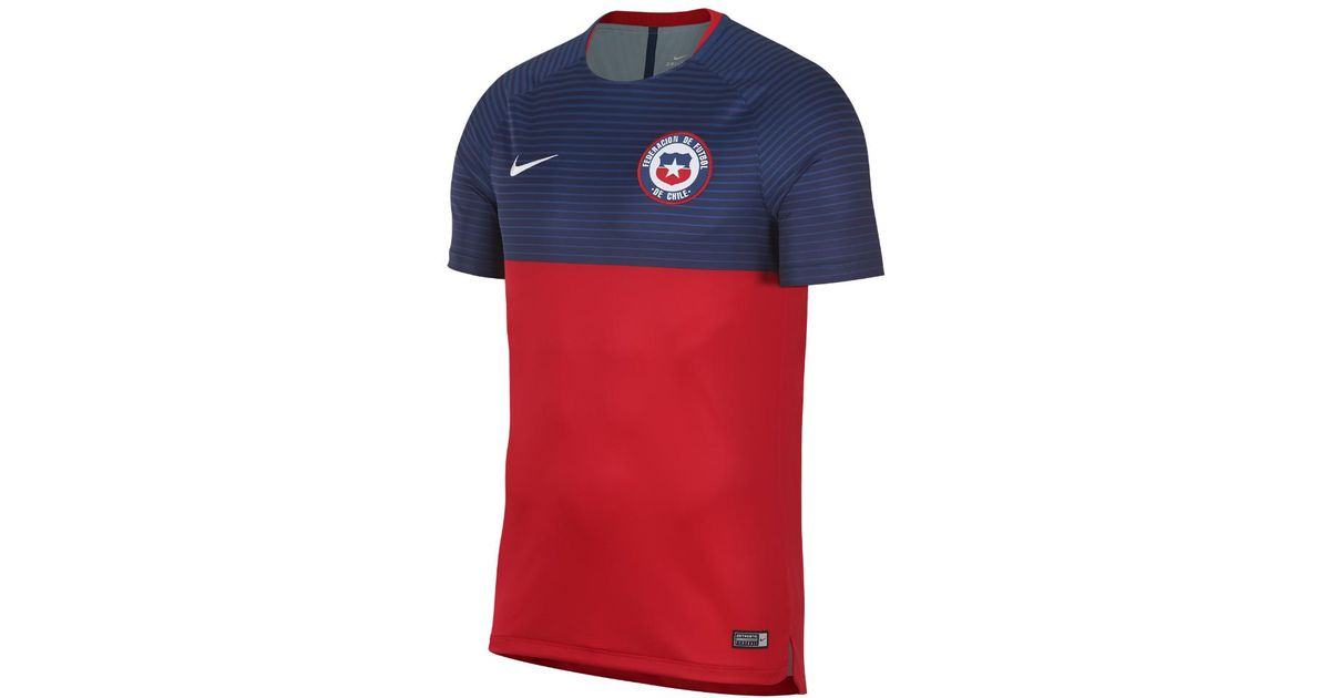 29974ee2324 Nike Chile Dri-fit Squad Men's Soccer Top in Red for Men - Lyst