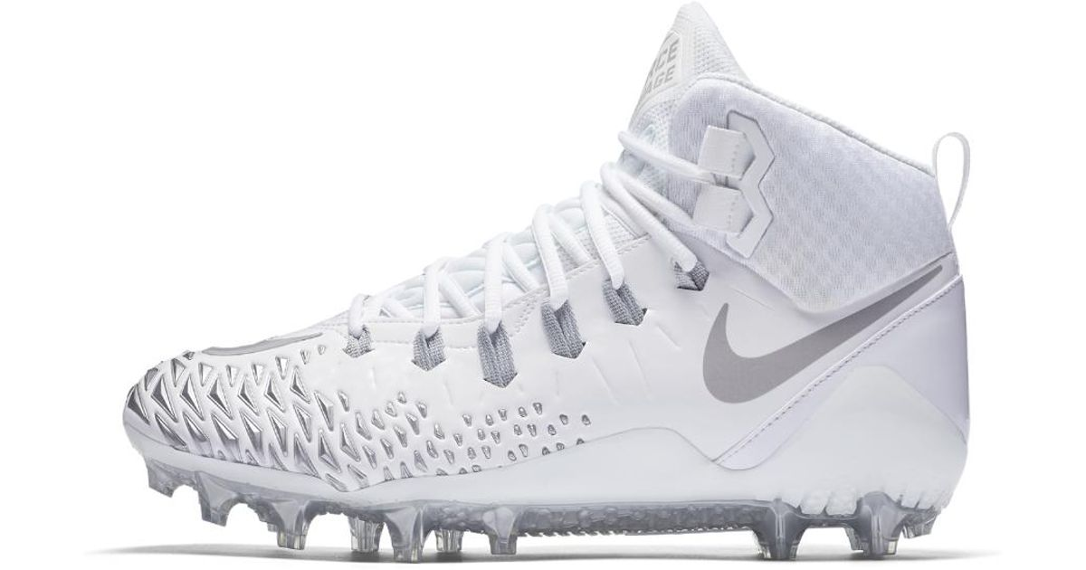 Nike Men S Alpha Menace Pro Mid Football Cleats Sporting
