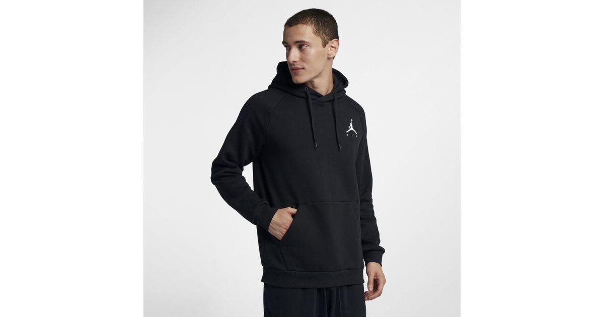 a838c5d1cf7 Nike Jordan Jumpman Air Fleece Pullover Hoodie in Black for Men - Lyst