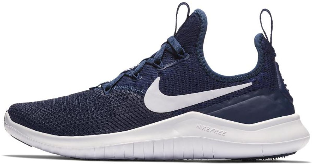 bf1283c514c1 ... coupon code lyst nike free tr8 womens training shoe in blue 6a9d9 6e942