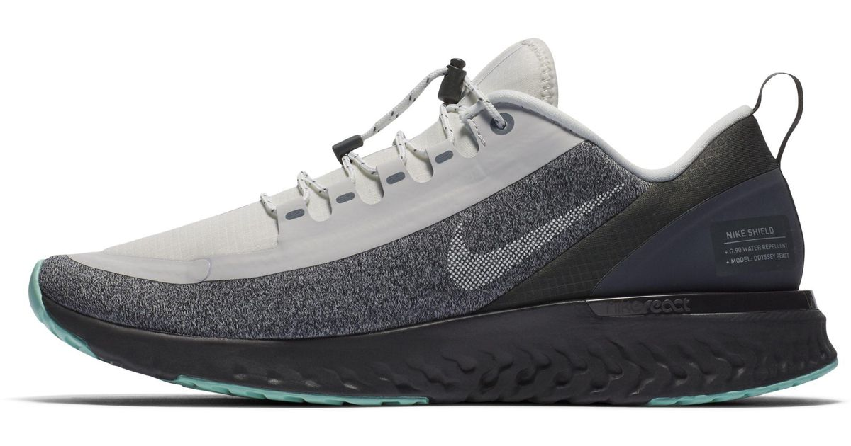 9980141233d1 Nike Odyssey React Shield Water-repellent Running Shoe in White - Lyst