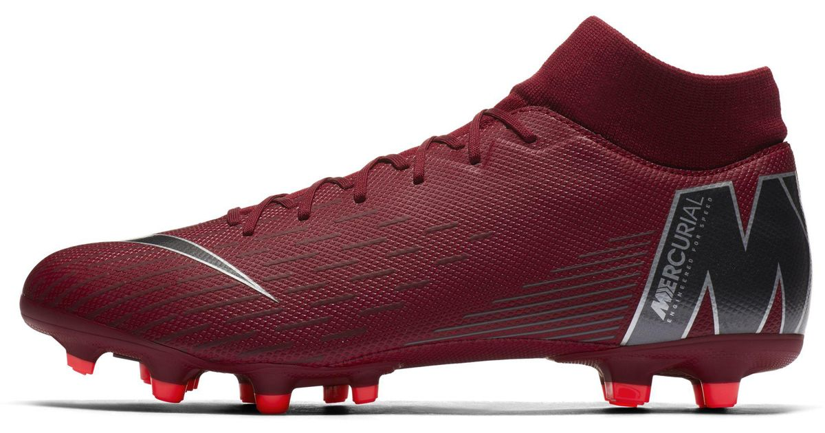 new styles 6e231 dd423 Nike Mercurial Superfly Vi Academy Multi-ground Football Boot in Red for  Men - Lyst