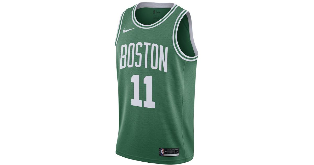 the latest 0d713 5fc4d ... uk lyst nike kyrie irving icon edition swingman jersey boston celtics  mens nba connected jersey in ...